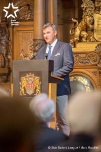Xavier Rohart, SSL President.
