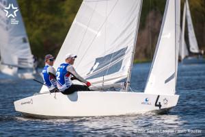 Bow no: 004 // Sail: FRA 8237 // Skipper: Xavier ROHART // Crew: Pierre-Alexis PONSOT